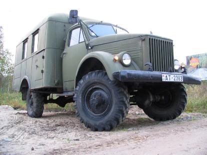 Фото обновленного автомобиля ГАЗ