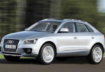 Новый внедорожник Audi Q3