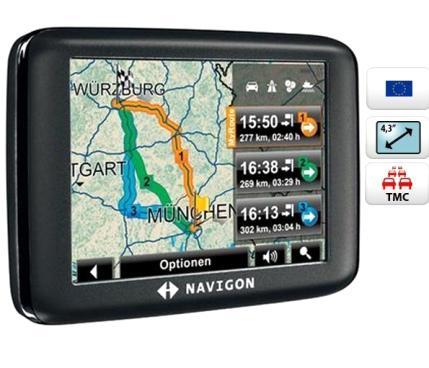 Фото спутникового GPS-навигатора для автомобиля