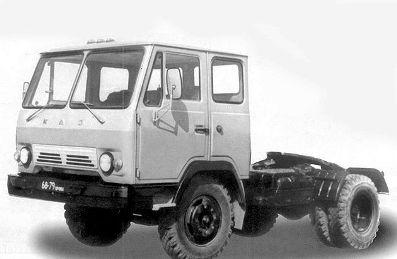 Популярный советский тягач КАЗ-608
