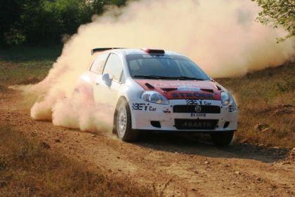 Фото автомобиля с чемпионата по Европы ралли