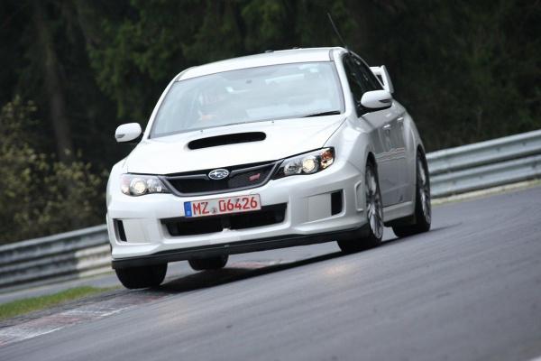 Новый спорткар Subaru WRX STi